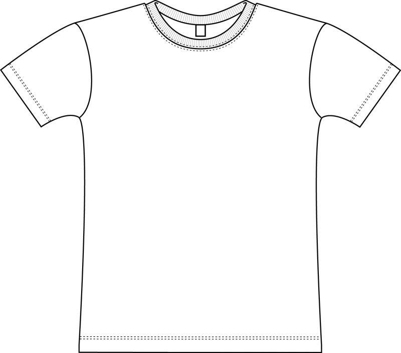 T shirt coloring sheet - a-k-b.info